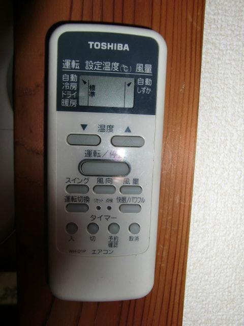 全室エアコン完備 簡易カギ付き