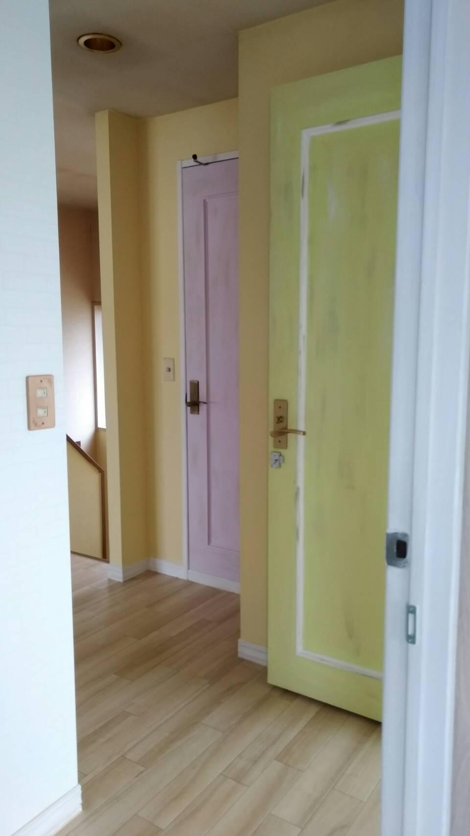 2階各部屋前廊下