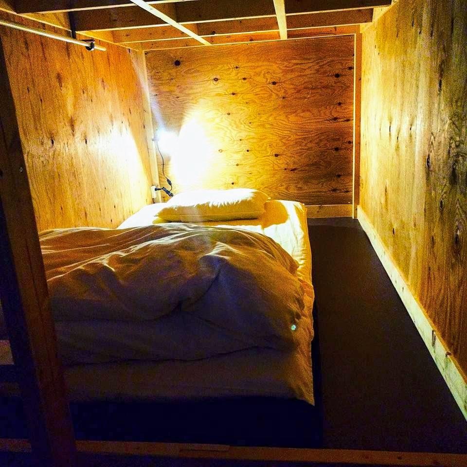 ベッド内部